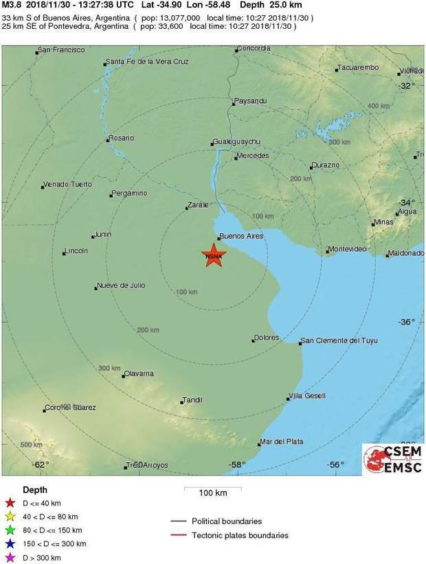 Землетрус, Аргентина, G20, стихійні лиха