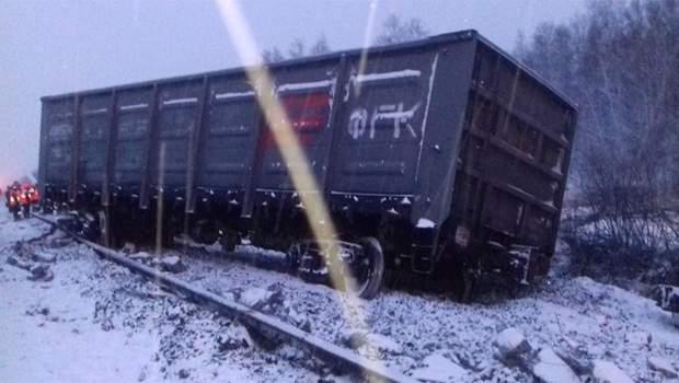 Росія потяг аварія