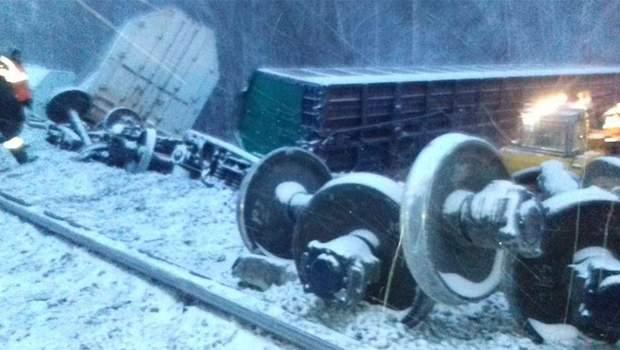 Росія аварія потяг