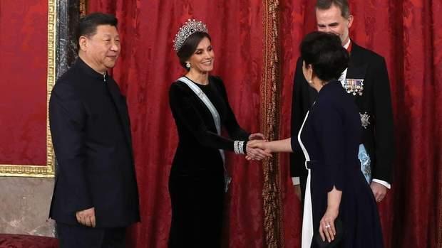 Королівське подружжя Іспанії приймає президентську сім'ю Китаю