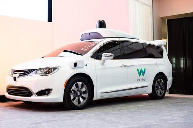 Безпілотне таксі Waymo