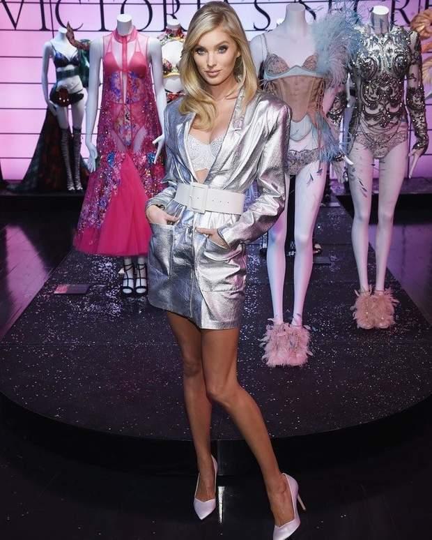 Ельза Госк на презентації Victoria's Secret у Нью-Йорку