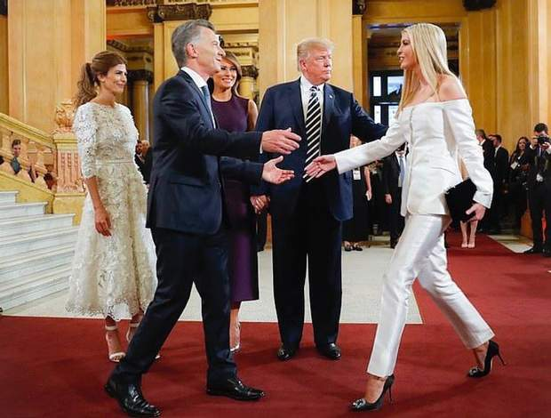 Сім'я Дональда Трампа в Аргентині
