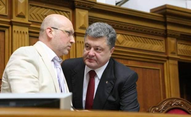 Турчинов та Порошенко