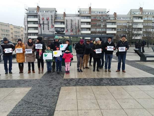 Польща Протести Азовське море
