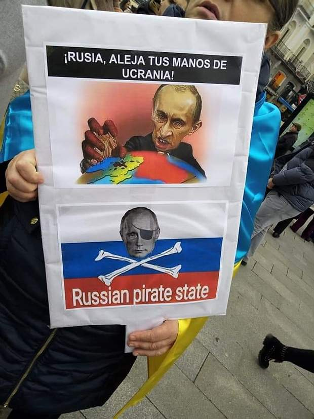 Іспанія Акції протесту Агресія Росії