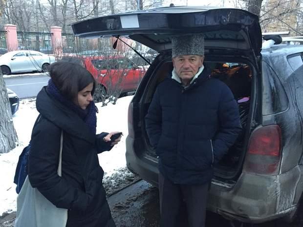 Активісти привезли продукти українським морякам