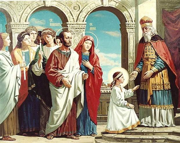 Введення в храм Діви Марії
