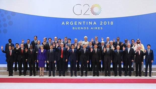 Учасники саммита G20 в Аргентине