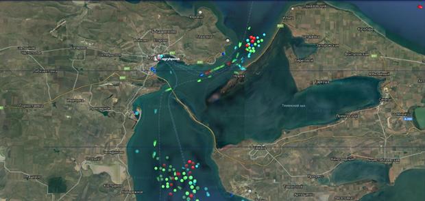 кораблі Керченська протока РФ заблокувала Керченську протоку аварія кораблі