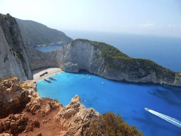 Навайо, Греція