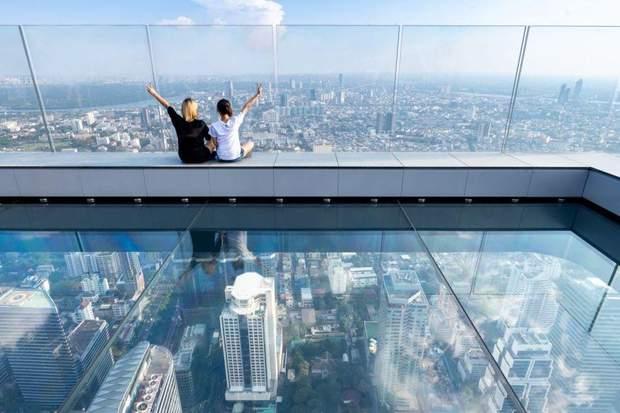 Таїланд Бангкок хмарочос оглядовий майданчик