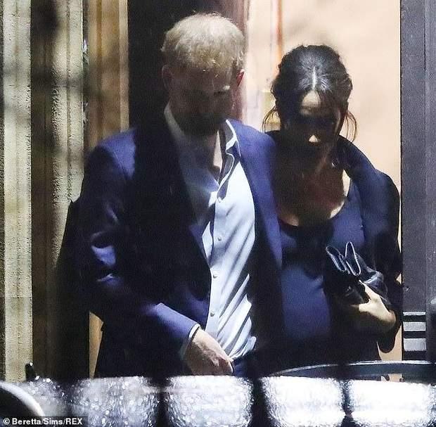 Принц Гаррі та Меган Маркл / The Daily Mail