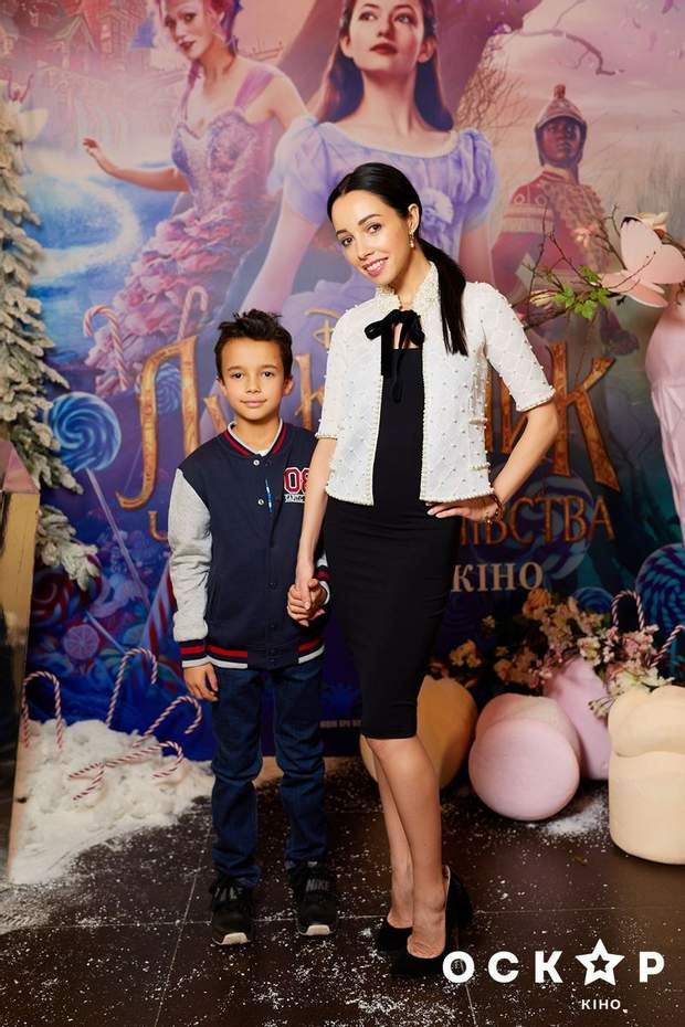 Катерина Кухар із сином