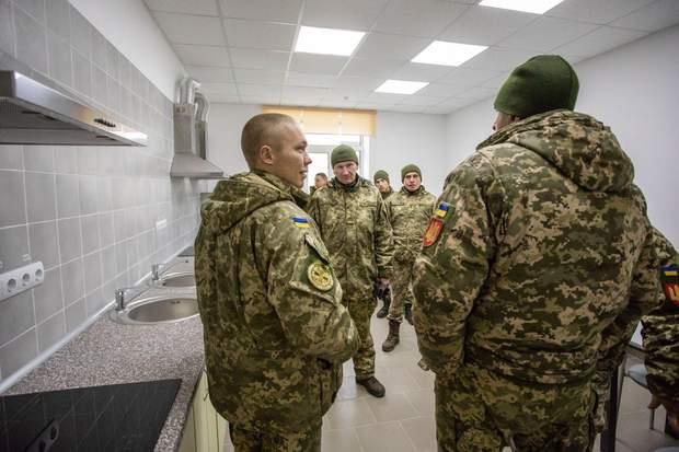 День ЗСУ військові гуртожиток кухня