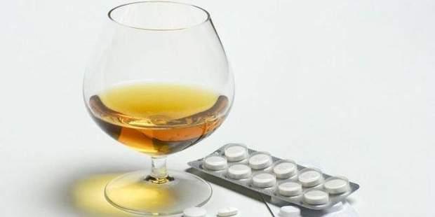 Ліки не можна запивати алкоголем
