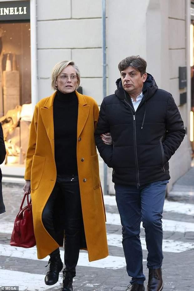 Шерон Стоун і її новий бойфренд Енцо Курсіо