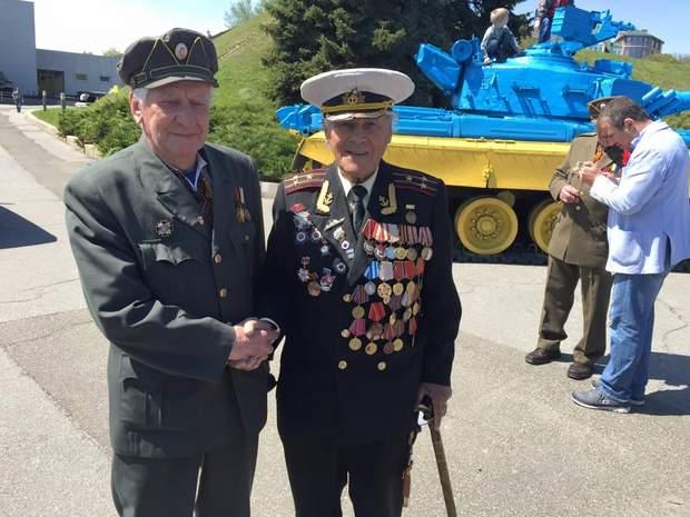 Ветерани УПА та радянської армії