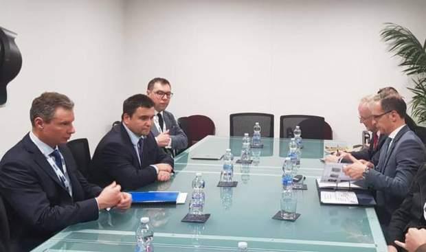 Зустріч Павла Клімкіна і Гайко Мааса