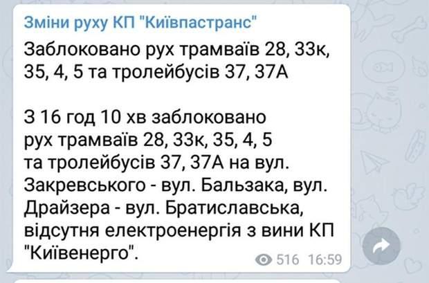світло Троєщина Київ