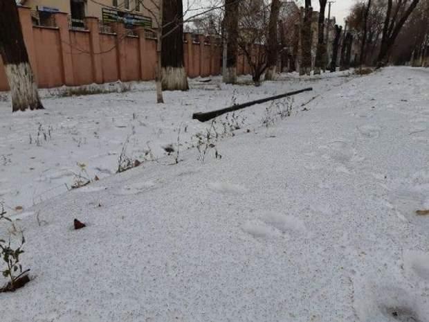 Кривой Рог, черный снег, экология