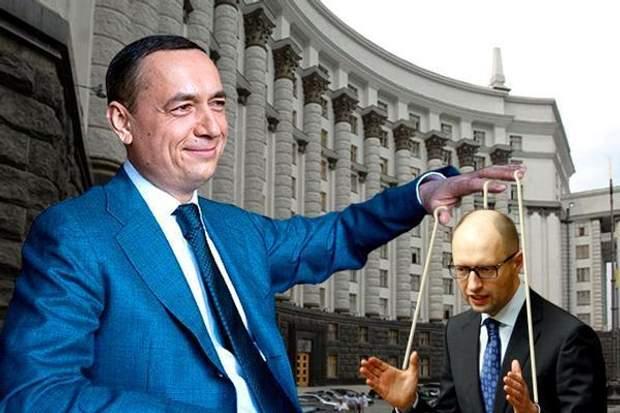 Мартиненко та Яценюк
