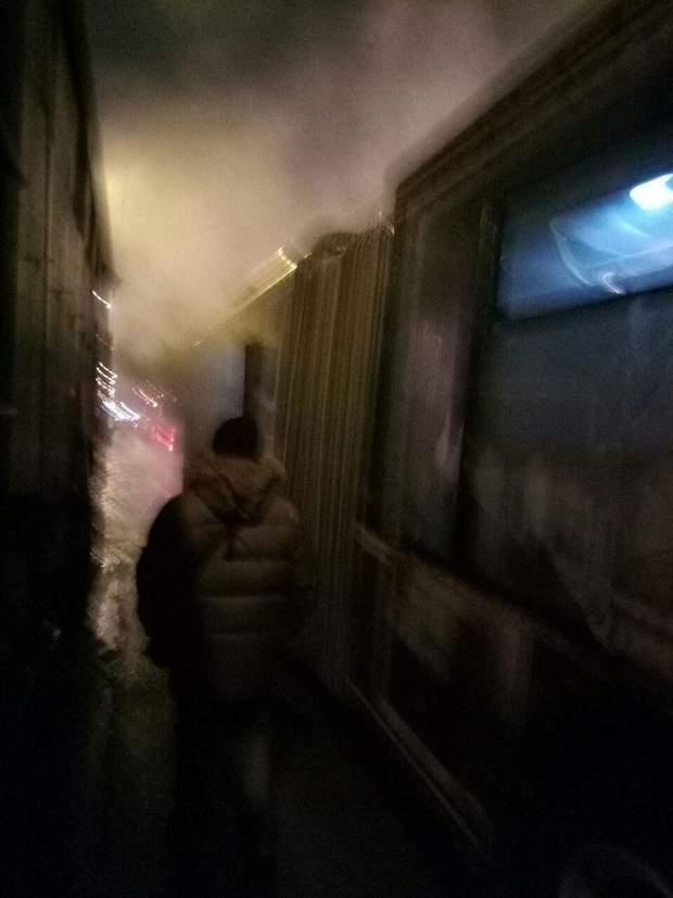 Харків тролейбус пожежа