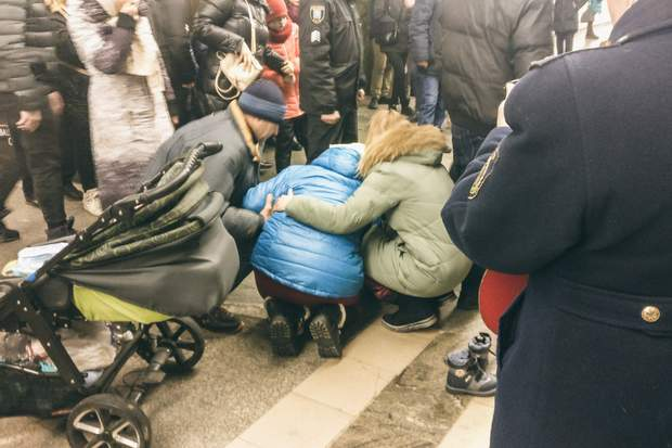дитина метро померла Київ палац спорту