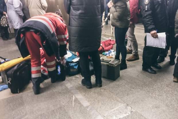 метро дитина померла Київ палац спорту