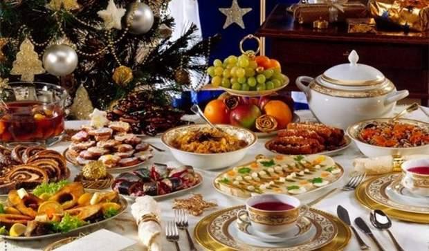 Новий рік калорії