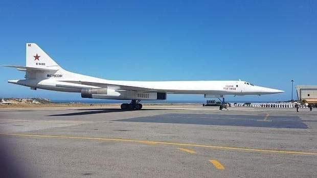 авіація РФ Росія США Венесуела