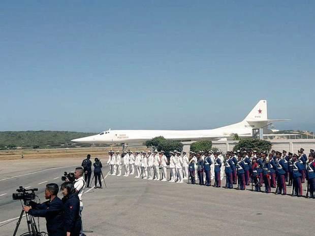 авіація РФ у Венесуелі