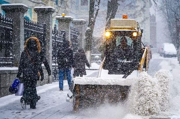 Погода Україна негода снігопад дощ вітер