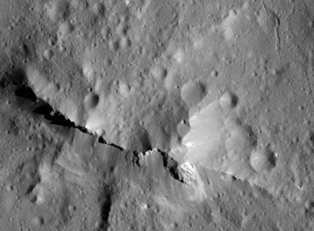 на планеті Церера виявилиорганіку