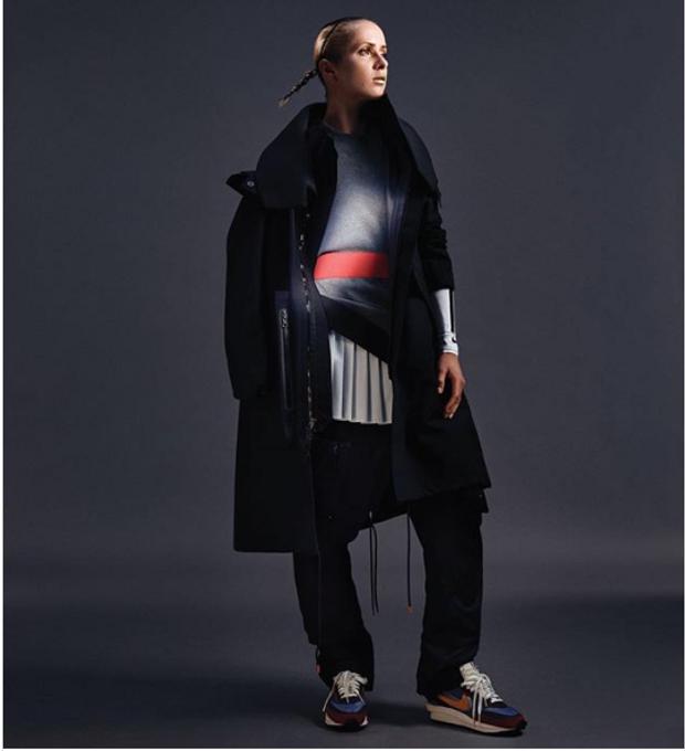Світоліна у ефектній рекламі Nike для журналу Vogue