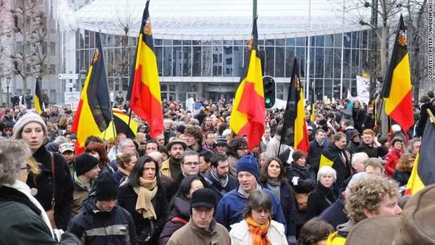 Акції протесту у Бельгії