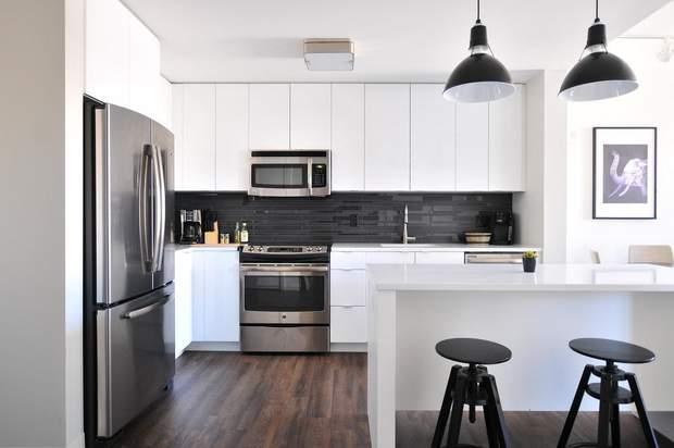 кухня модульні меблі тренди інтер'єр дизайн 2018