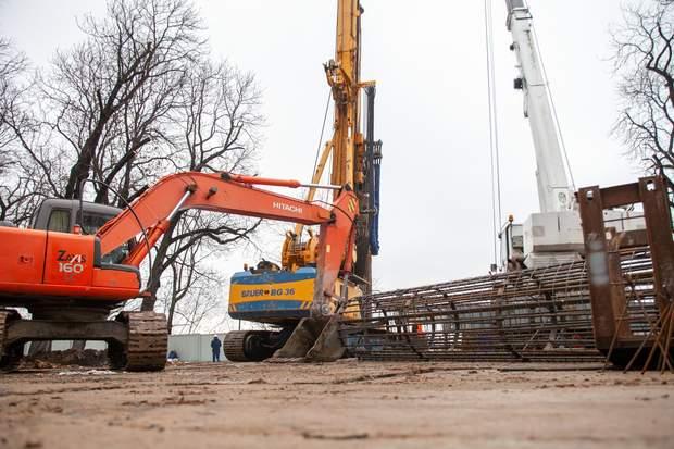 Київ пішохідний міст будівництво