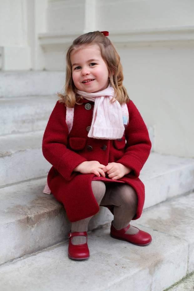 Принцеса Шарлотта донька принца Вільяма та Кейт Міддлтон