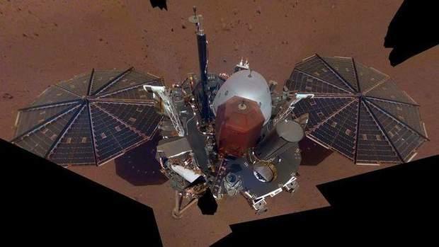InSight  надіслав перше «селфі» із Марсу
