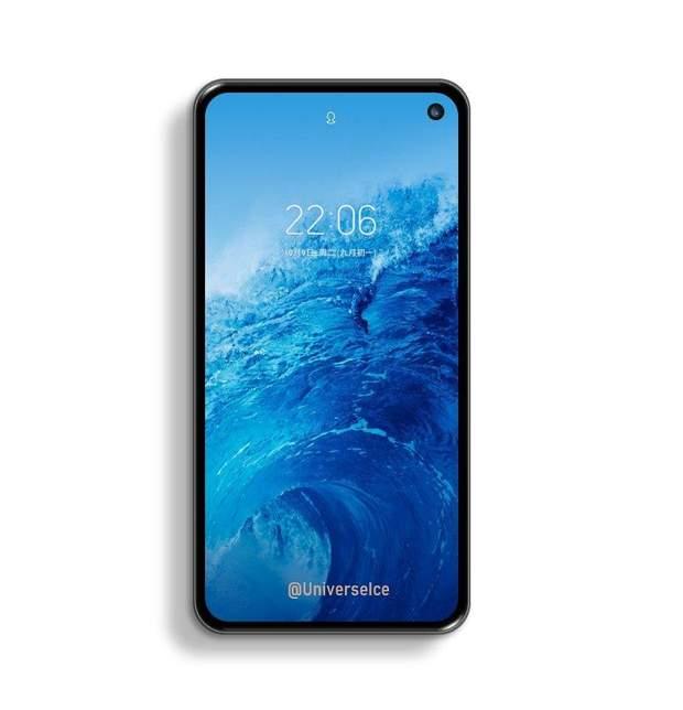 Samsung S10 Lite, телефон, смартфон, рендер, технології