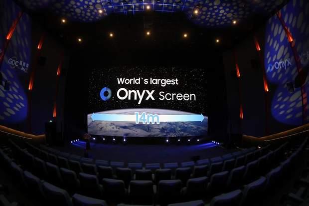 Samsung, Onyx, кінотеатр, екран, LED