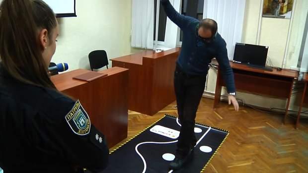 алкоокуляри імітація поліція