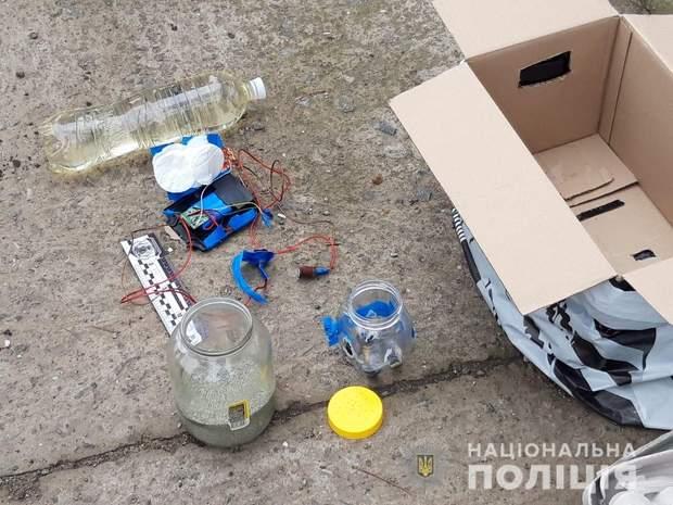 поліція знайшла вибухівку в ізмаїлі