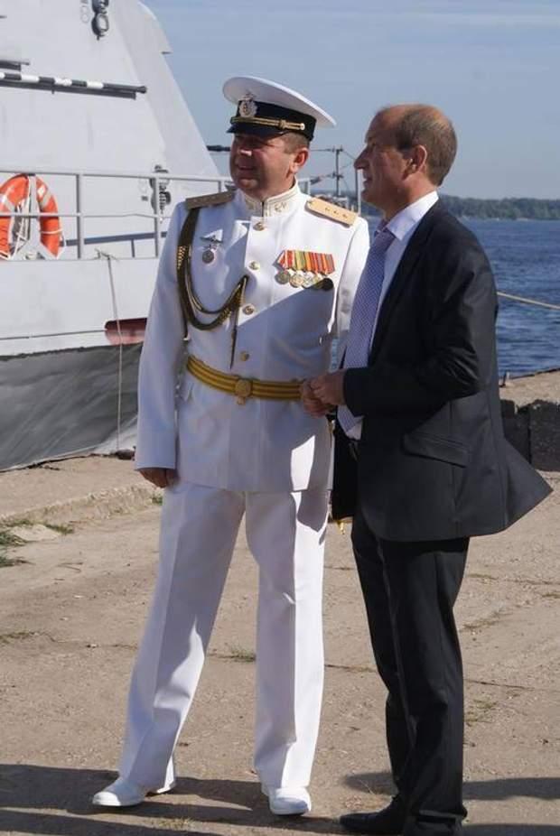 Захоплення українських кораблів Фото Військовий РФ