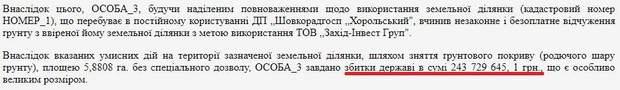 Onur Полтава збитки корупція надри