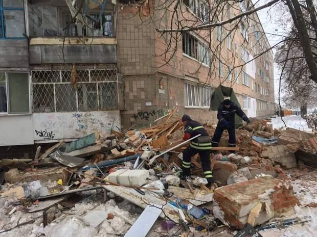 житловий будинок київщина вибух газу