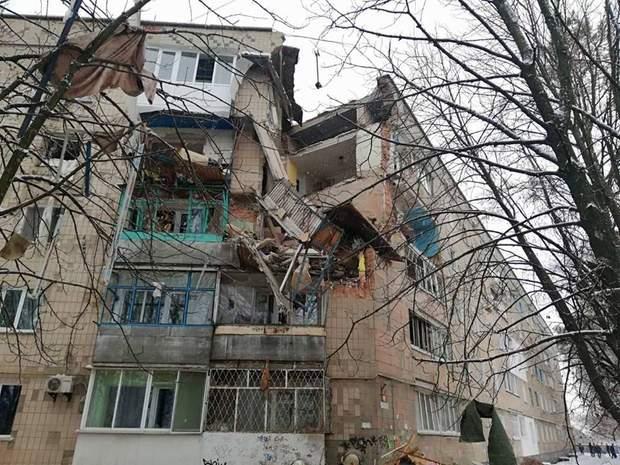 київщина вибух газу будинок