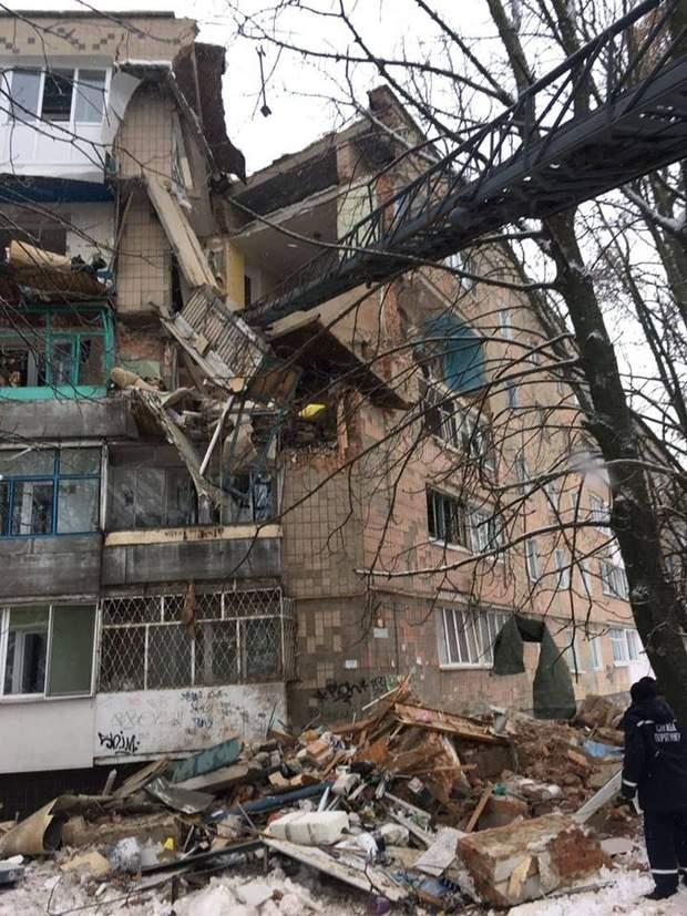 вибух газу київщина житловий будинок