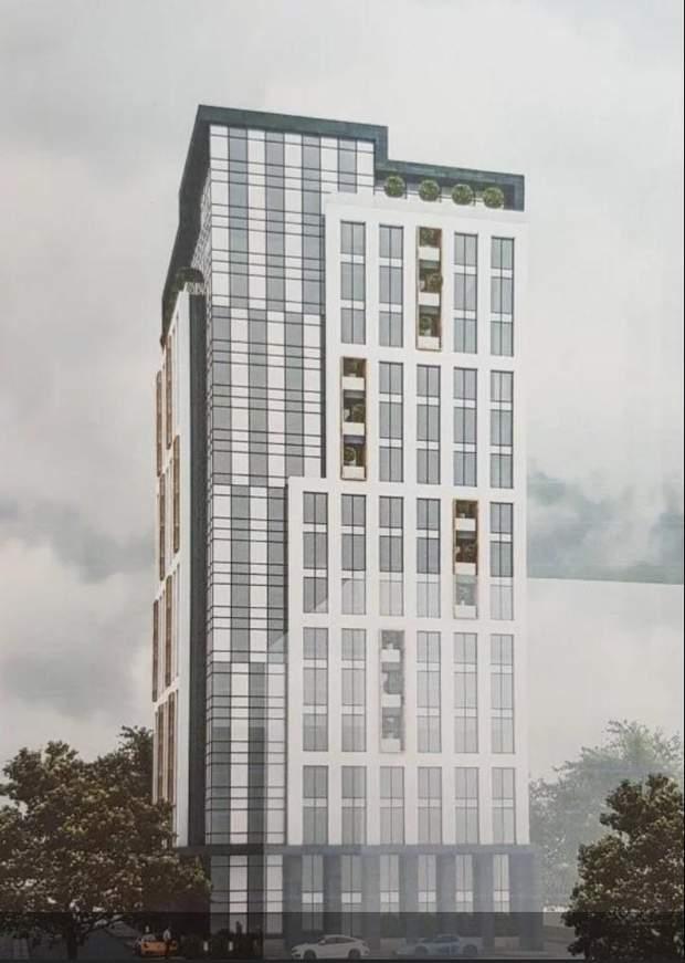 Візуалізація проект офісний центр Львів